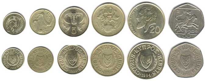 cyprus currency coins