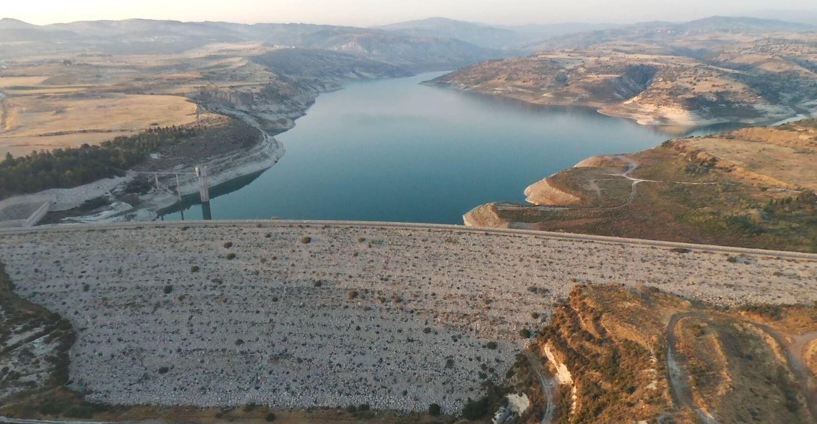Asprokremmos Dam Cyprus