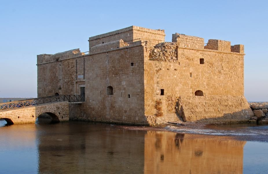 Paphos Is A City On The Island Of