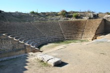 ancient theatre solon