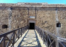 Paphos Castle entrance
