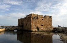 Paphos Castle side view
