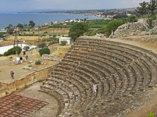 soloi ancient theatre cyprus