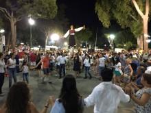 wine festival dancing