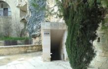 Agios Neophytos Monastery holy water entrance