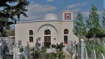 agios spyridonas church deftera