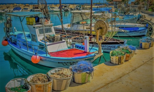 Ayia Triada Fishing Harbour, Paralimni