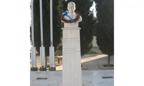 Dimitraki Christodoulou Monument - Deryneia Village