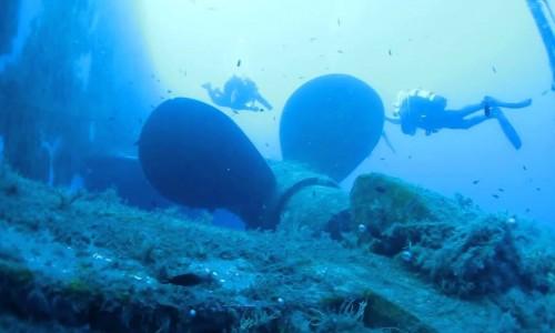 Zenobia Shipwreck