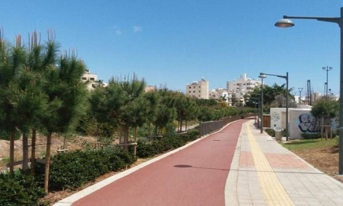 Linear Park Along the Garyllis River - Limassol