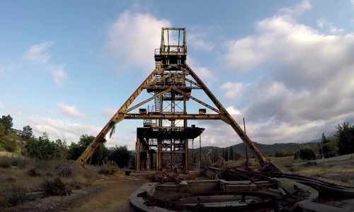 Kokkinogia Mine - Mitsero Village