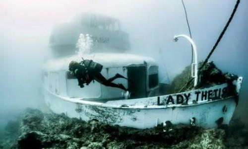 Lady Thetis Shipwreck