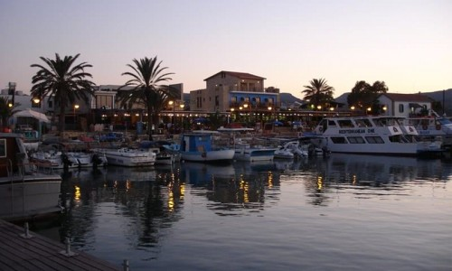 Latchi Harbour and Marina