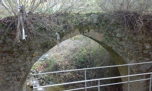 Old Tall Bridge of Xyliatos