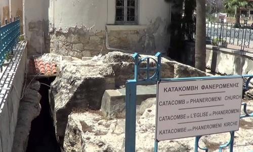 Panagia Faneromeni Catacomb