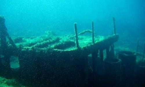 Vera K wreck diving site