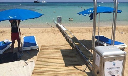 Beaches with wheelchair accessibility