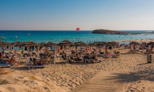 Ayia Triada Beach, Paralimni