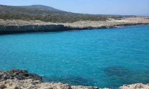 Blue lagoon Beach, Akamas
