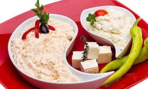 Tirokafteri (Spicy cheese dip)