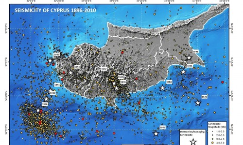 Earthquakes in Cyprus