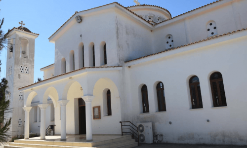 Agiou Efrem Church - Agios Amvrosios Village