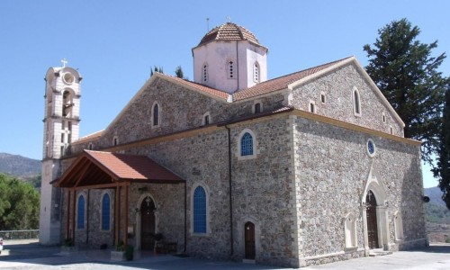 Panagia Eleousa Church - Agros Village