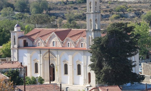 Panagia Chrysolofitissa Church- Lofou Village