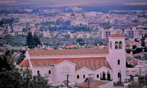 Timios Stavros Church, Pano Polemidia