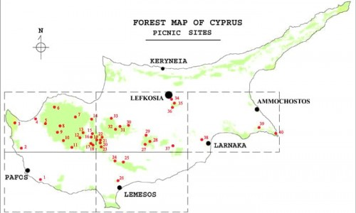 Cyprus Picnic Sites