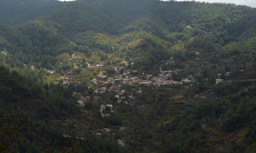 Spilia and Kourdali Village