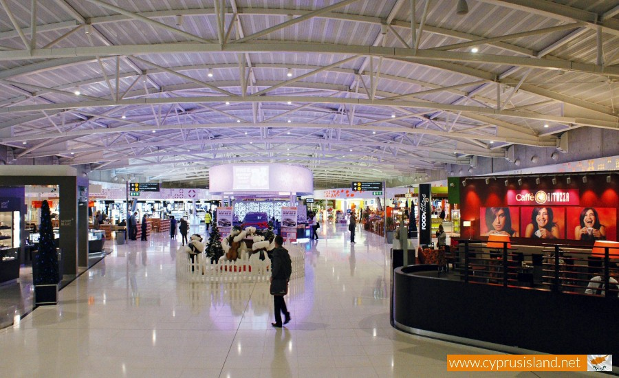 airport cyprus