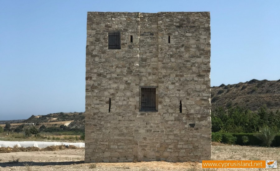 Alaminos Medieval Tower Larnaca