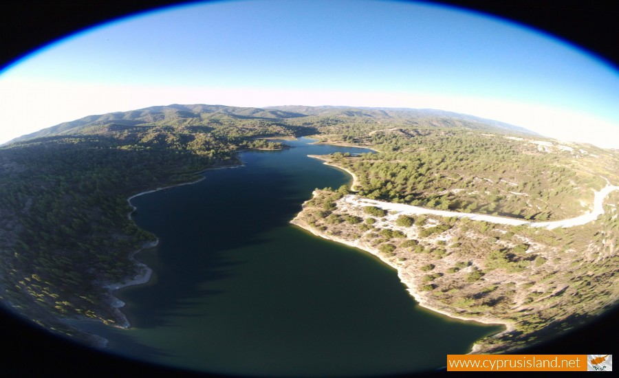 Arminou Dam Aerial Photo