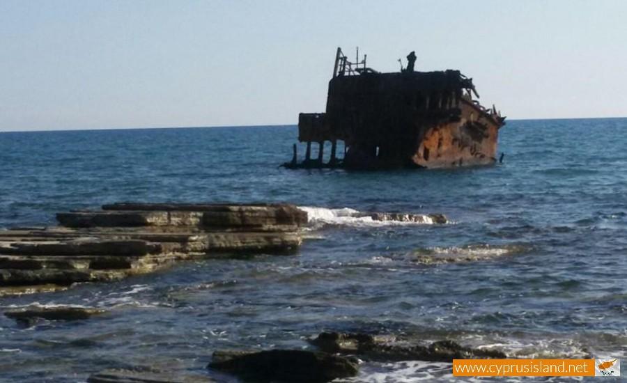 Achaios Shipwreck Akrotiri