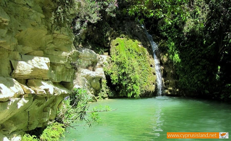 Adonis baths waterfalls | Cyprus Island