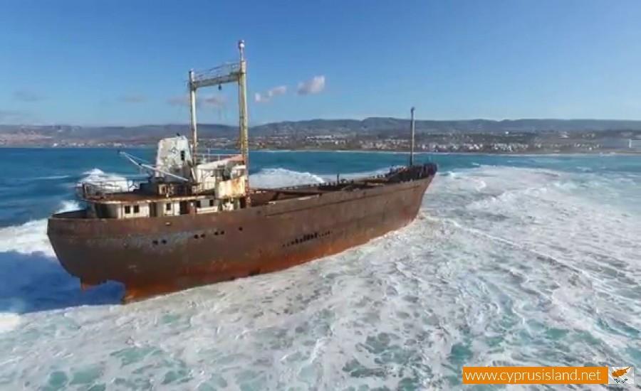 agios dimitrios shipwreck paphos