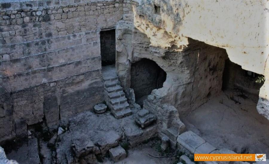 agiou lambrianou catacomb paphos