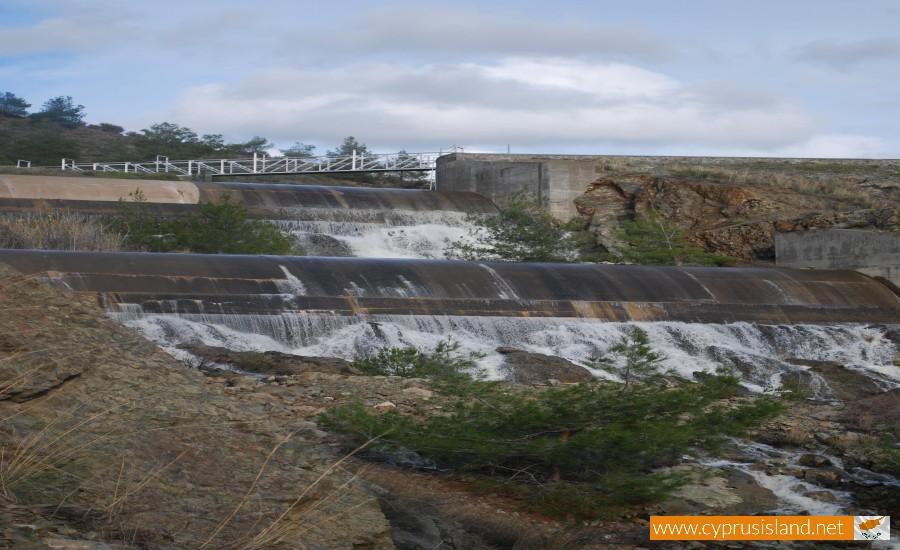 Argaka dam in Paphos