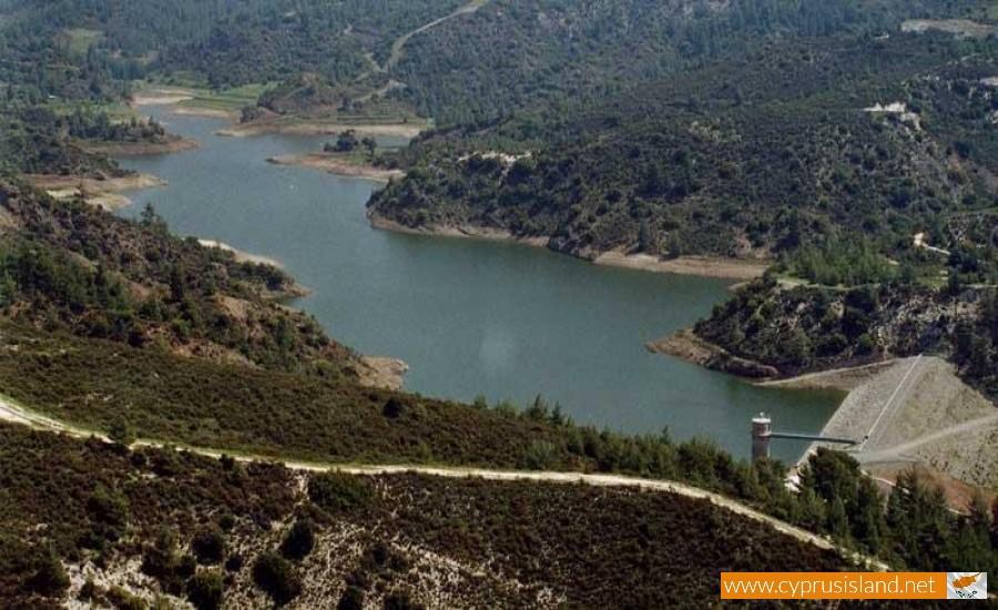 Arminou dam in Paphos