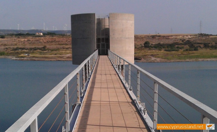 Asprokremmos dam control tower