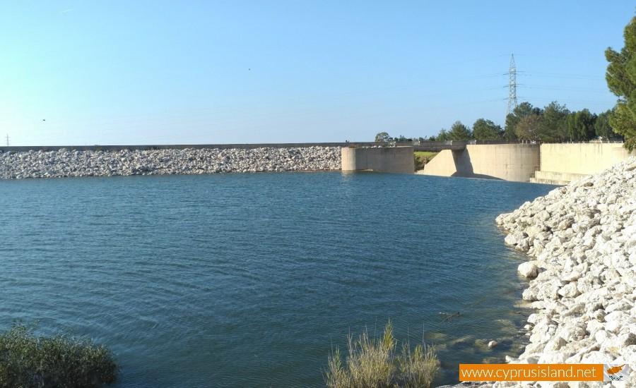 Asprokremmos Dam Overflowing 2
