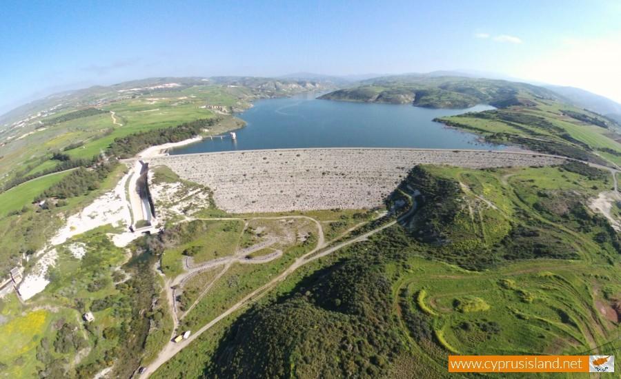 Asprokremmos Dam Overflowing 4