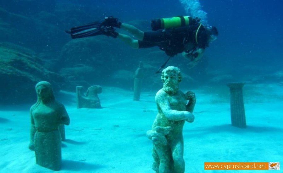ayia napa underwater sculpture park cyprus