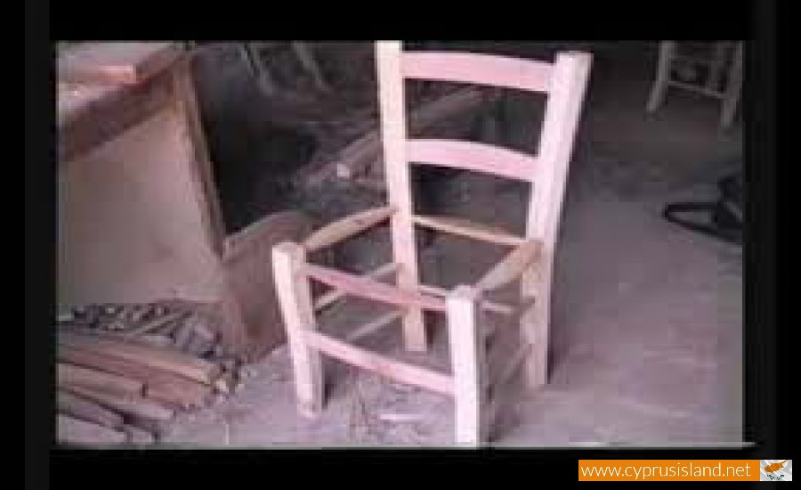 cyprus chair making