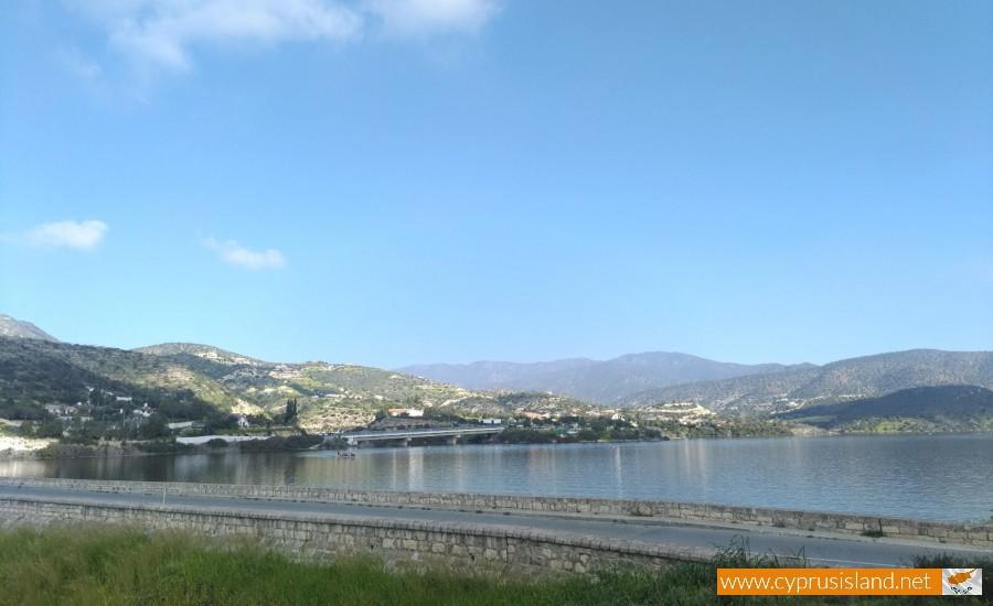 Germasogeia Dam Limassol Cyprus