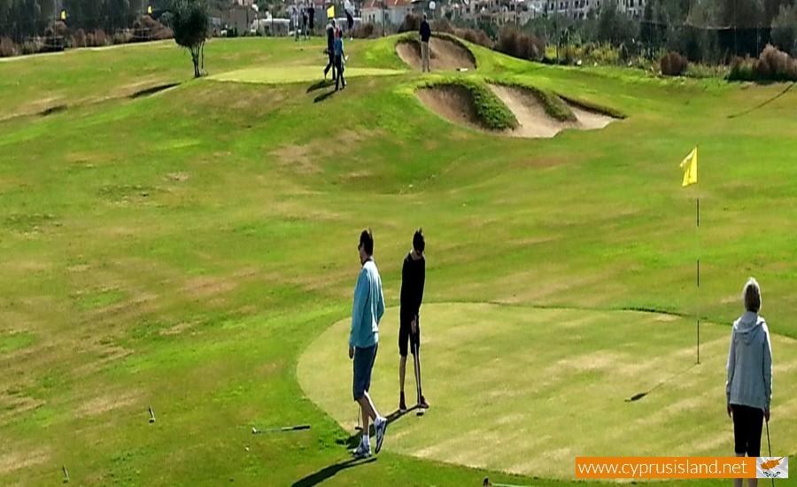 golf park paphos