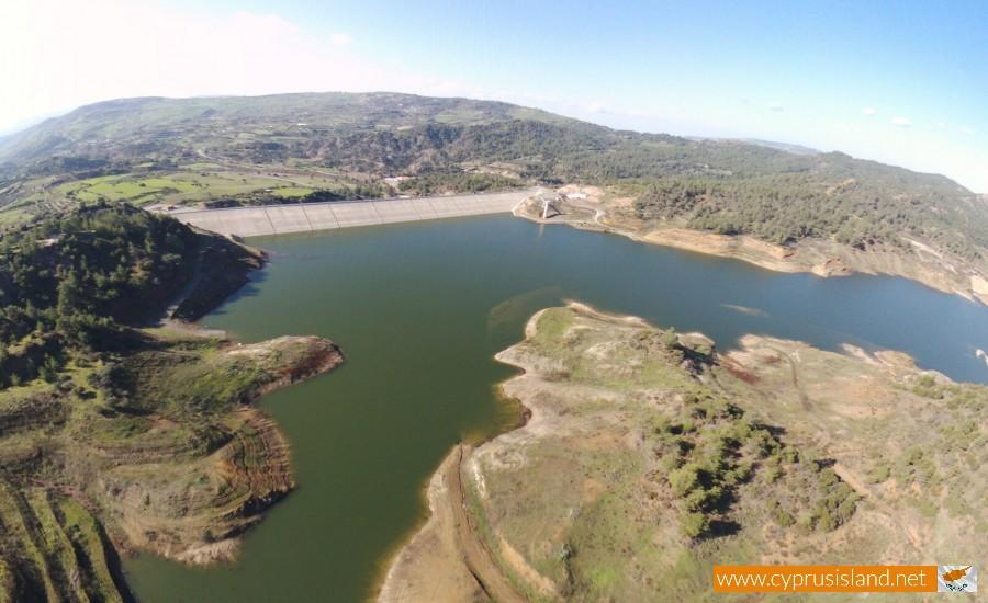 Kannaviou Dam Aerial view