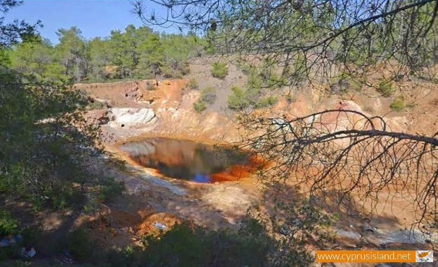 kokkinoantonis mine nicosia