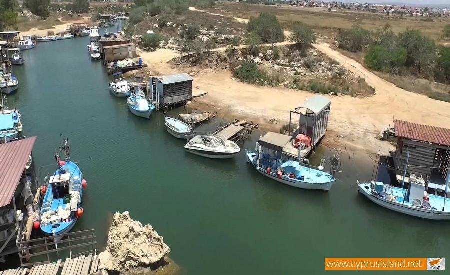 liopetri river cyprus